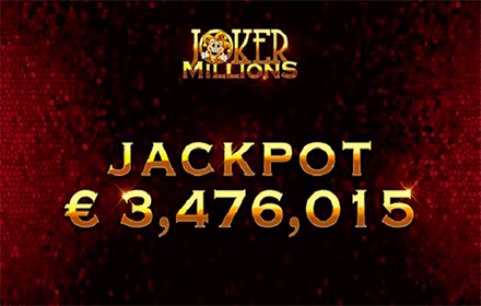 JOKER MILLIONS FORTUNATA, VINTI 3,1 MILIONI DI EURO