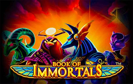 SU LEOVEGAS ARRIVA LA SLOT BOOK OF IMMORTALS