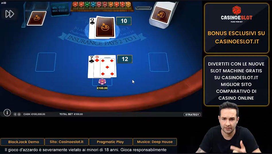 regole del blackjack