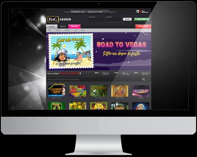 big casino homepage
