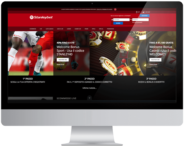 Stanleybet casino home