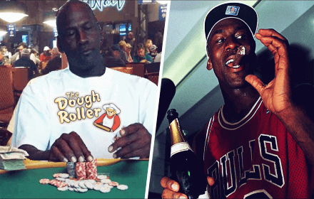 Michael Jordan casino gioco d'azzardo