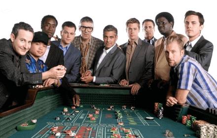 George Clooney casino e Blackjack